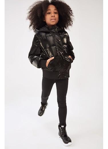 Guess Kız Çocuk Siyah Mont Siyah